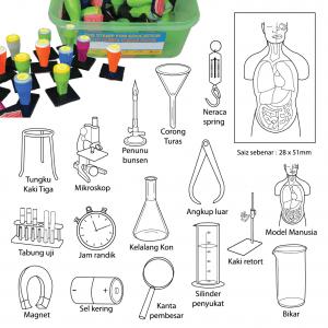 COP PERALATAN SAINS (16 PCS) - ITS Educational Supplies Sdn Bhd