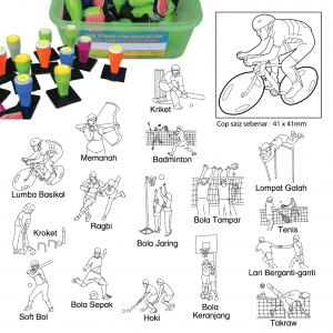 COP SUKAN LUARAN (16 PCS) - ITS Educational Supplies Sdn Bhd