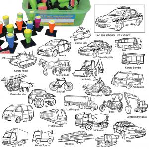 COP KENDERAAN (24 PCS) - ITS Educational Supplies Sdn Bhd