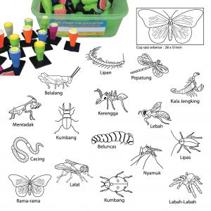 COP SERANGGA (16 PCS) - ITS Educational Supplies Sdn Bhd