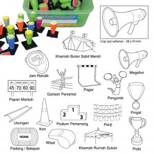 COP HARI SUKAN SEKOLAH (16 PCS) - ITS Educational Supplies Sdn Bhd