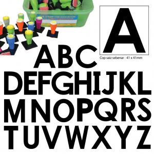 COP HURUF BESAR ABC (PENUH) (26 PCS) - ITS Educational Supplies