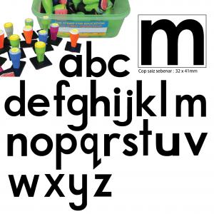 COP HURUF KECIL abc (PENUH) (26 PCS) - ITS Educational Supplies