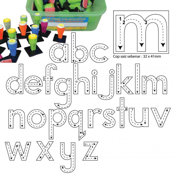 COP CARA MENULIS HURUF KECIL (26 PCS) - ITS Educational Supplies