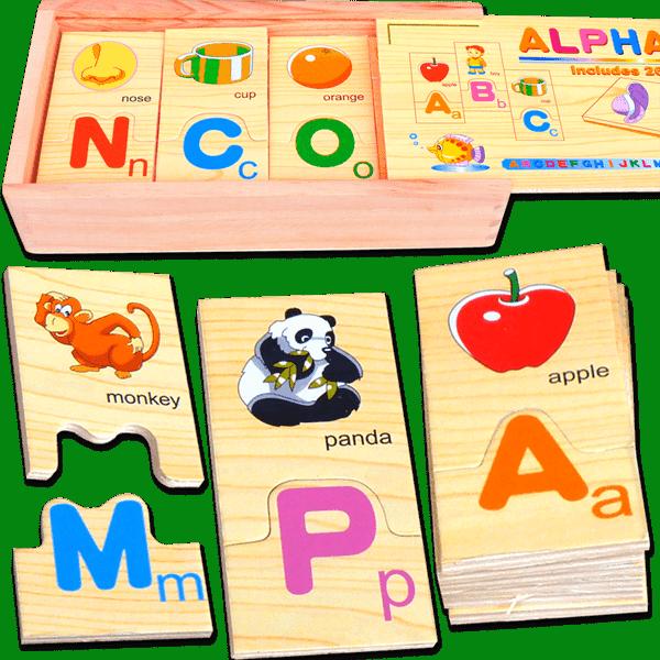 ALPHABET BOX (1 BOXES 26 PCS) - ITS Educational Supplies Sdn Bhd