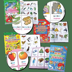 KAMUS BESAR BERGAMBAR (SET OF 4) - ITS Educational Supplies Sdn Bhd