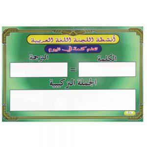 PAPAN AKTIVITI PANITIA B.ARAB - ITS Educational Supplies Sdn Bhd