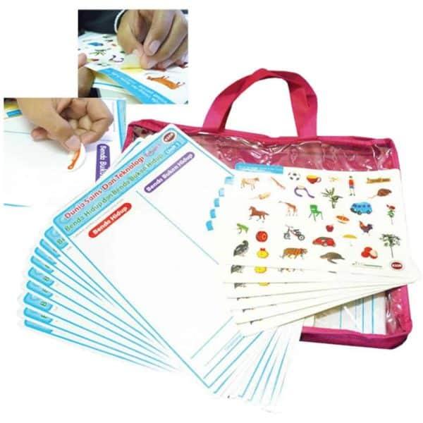SET KAD AKTIVITI (SAINS) UNIT 1 (40 SET) - ITS Educational Supplies