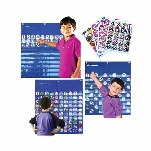 1-100 POCKET CHART - ITS Educational Supplies Sdn Bhd