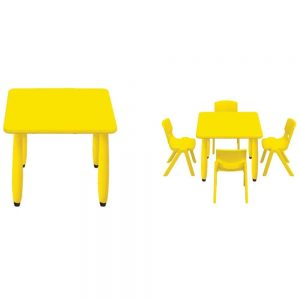 SQUARE PLASTIC TABLE - ITS Educational Supplies Sdn Bhd
