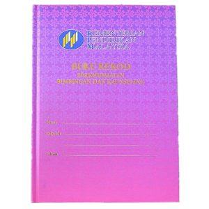 MGKK BUKU REKOD PERKHIDMATAN BIMBINGAN DAN KAUNSELING - ITS Educational Supplies