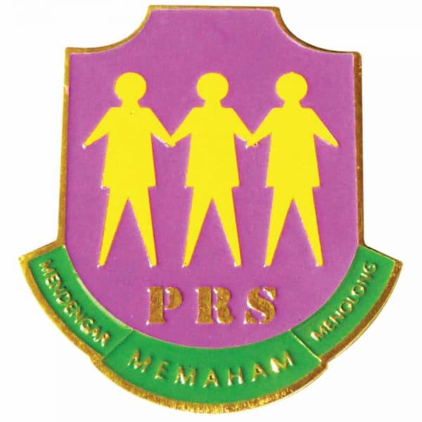 PRS BADGE PIN - ITS Educational Supplies Sdn Bhd