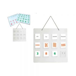 MAGNETIC POCKET BOARD WITH CARDS - ITS Educational Supplies Sdn Bhd