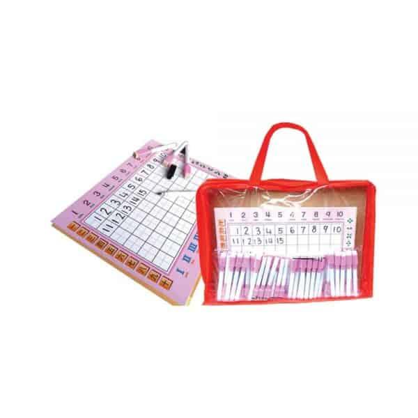 123 ERASABLE WRITING BOARD (40 SET) - ITS Educational Supplies