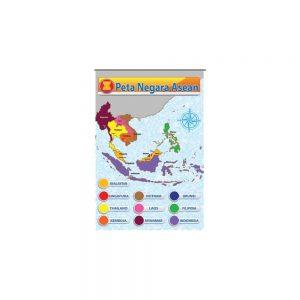 POSTER NEGARA-NEGARA ASEAN-PETA NEGARA ASEAN - ITSSB