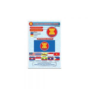 POSTER NEGARA-NEGARA ASEAN-LOGO DAN BENDERA ASEAN - ITSSB