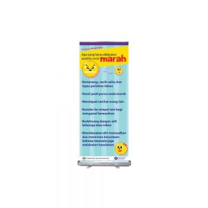 BANNER WITH STAND-MINDA SIHAT - ITS Educational Supplies Sdn Bhd