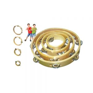 WOODEN TAMBOURINE SET (WITHOUT SKIN)(SET OF 4) - ITSSB