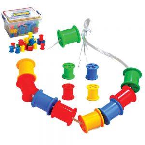 PLASTIC SPOOLS SET - ITS Educational Supplies Sdn Bhd