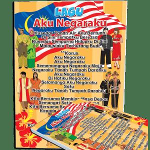 POSTER LAGU AKU NEGARAKU - ITS Educational Supplies Sdn Bhd
