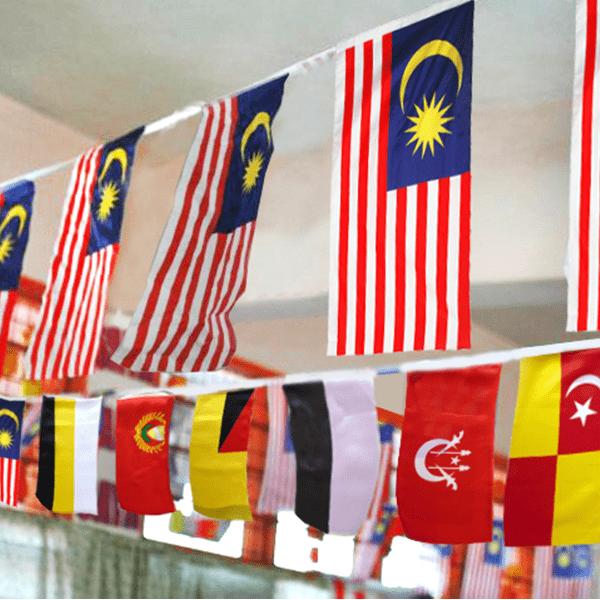 BENDERA JENIS GANTUNG BERDERAT - ITS Educational Supplies Sdn Bhd