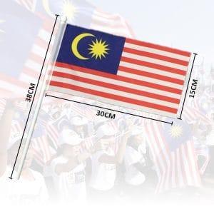 BENDERA MALAYSIA JENIS PEGANGAN TANGAN - ITS Educational Supplies Sdn Bhd