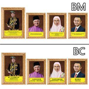 POSTER KAD PEMIMPIN NEGARA - ITS Educational Supplies Sdn Bhd