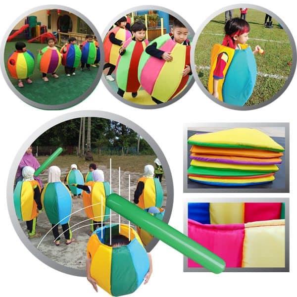 MINI RAINBOW PENGUIN GAMES ( 4PCS + 1 AIR STICK ) - ITS Educational Supplies