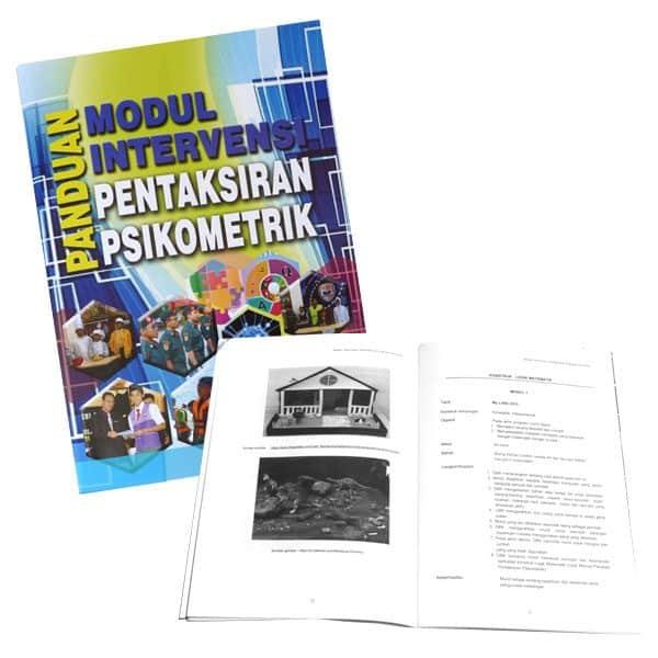 PANDUAN MODUL INTERVENSI PENTAKSIRAN PSIKOMETRIK - ITSSB